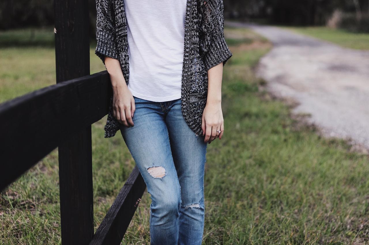 t-shirt à porter avec un jean